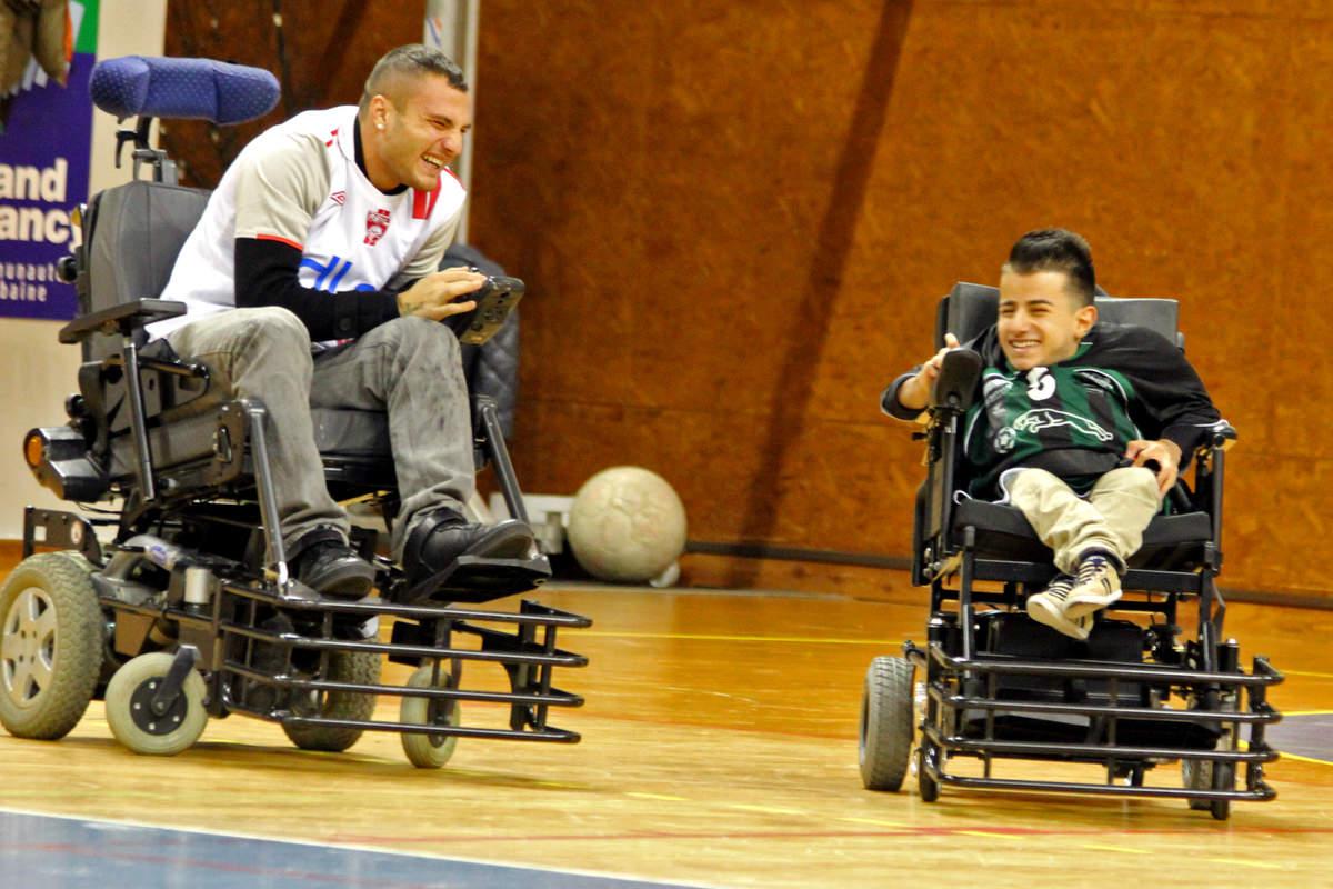 Du foot fauteuil pour le Téléthon - Photo n°19