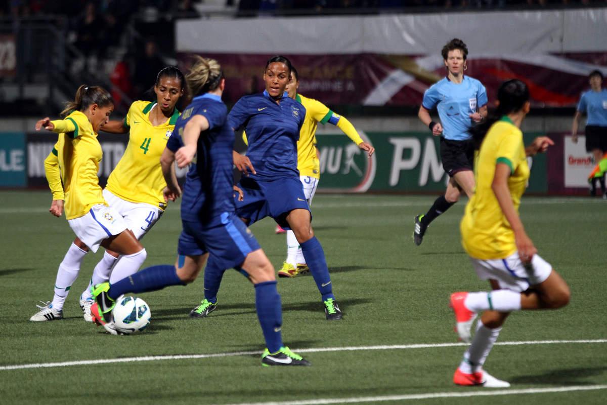 France-Brésil (F) - Photo n°23