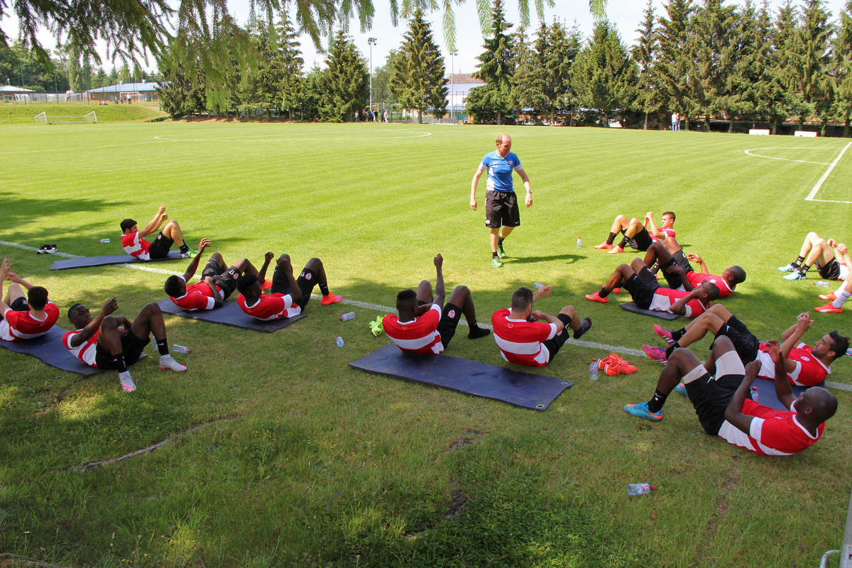 Premier entraînement - Photo n°20
