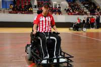 Une équipe mixte au foot fauteuil - Photo n°2