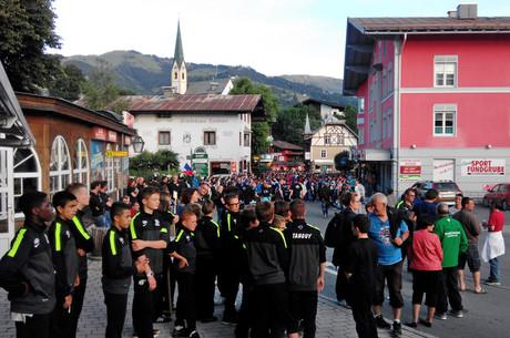Les U15 en Autriche