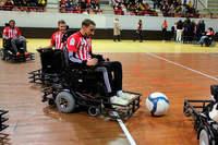 Une équipe mixte au foot fauteuil - Photo n°3