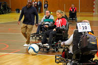 Une équipe mixte au foot fauteuil - Photo n°5
