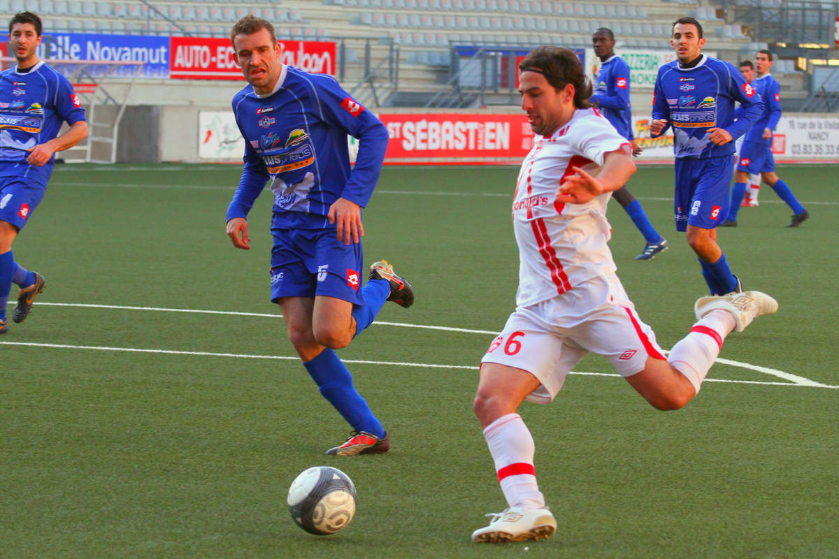 ASNL/Bourg-Peronnas en CFA - Photo n°13