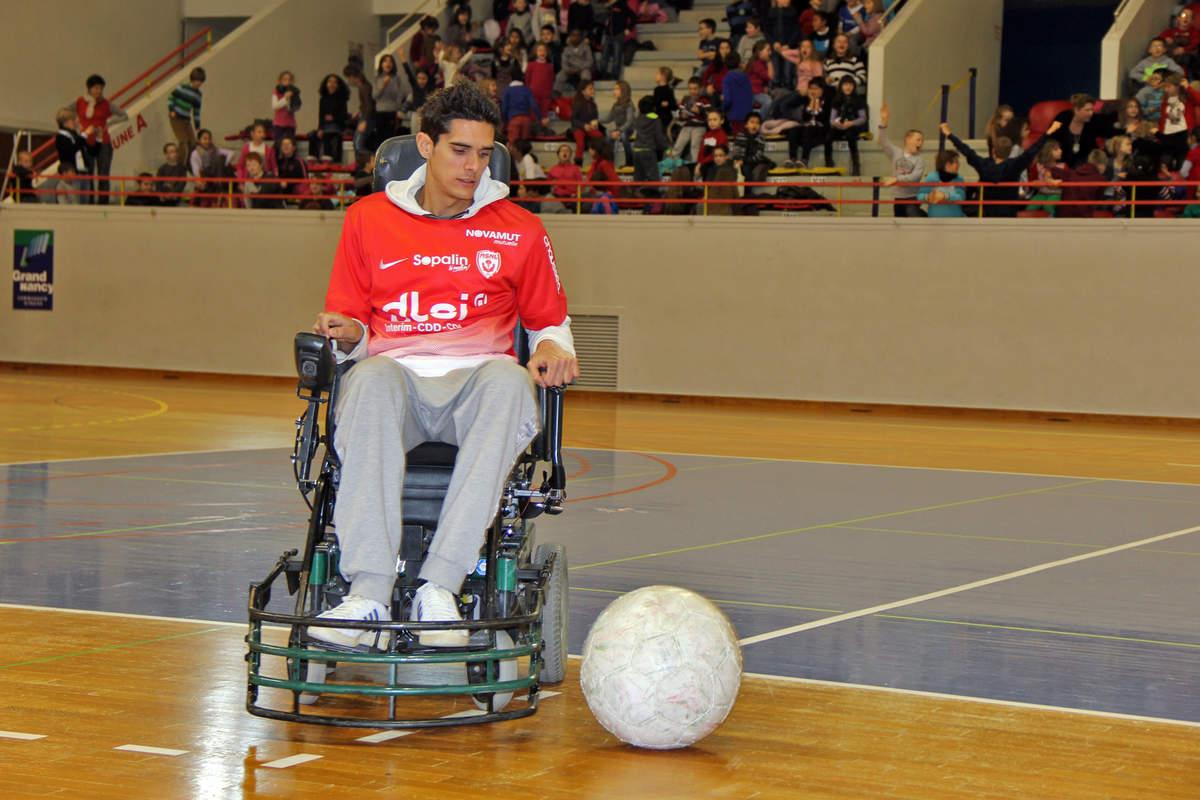 Vandoeuvre-Nancy en foot fauteuil - Photo n°4