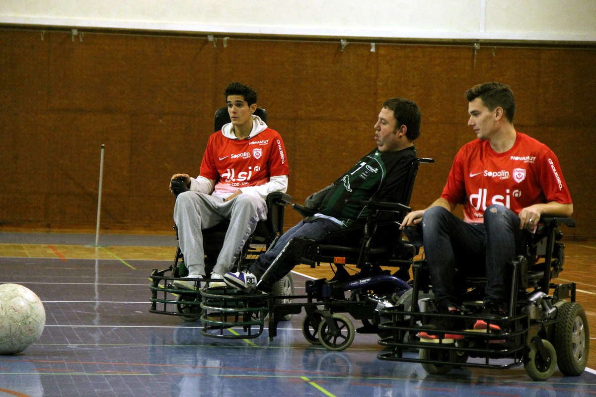Vandoeuvre-Nancy en foot fauteuil - Photo n°5