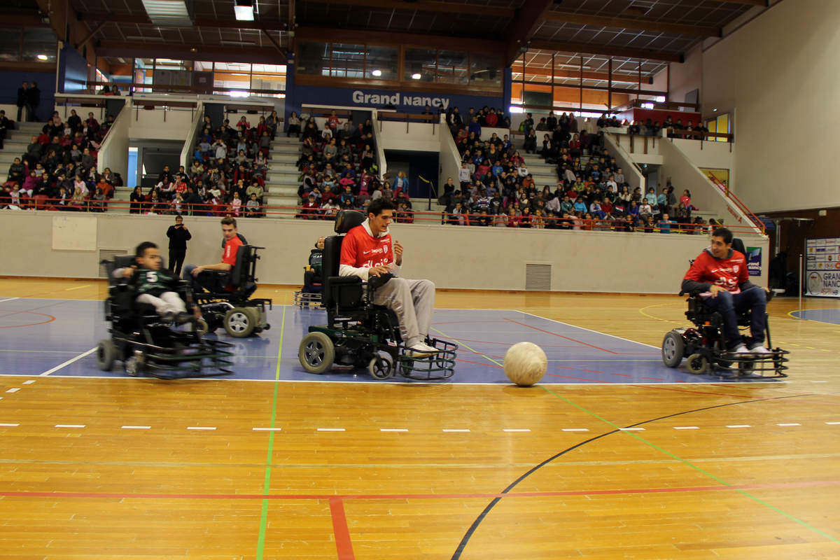 Vandoeuvre-Nancy en foot fauteuil - Photo n°7