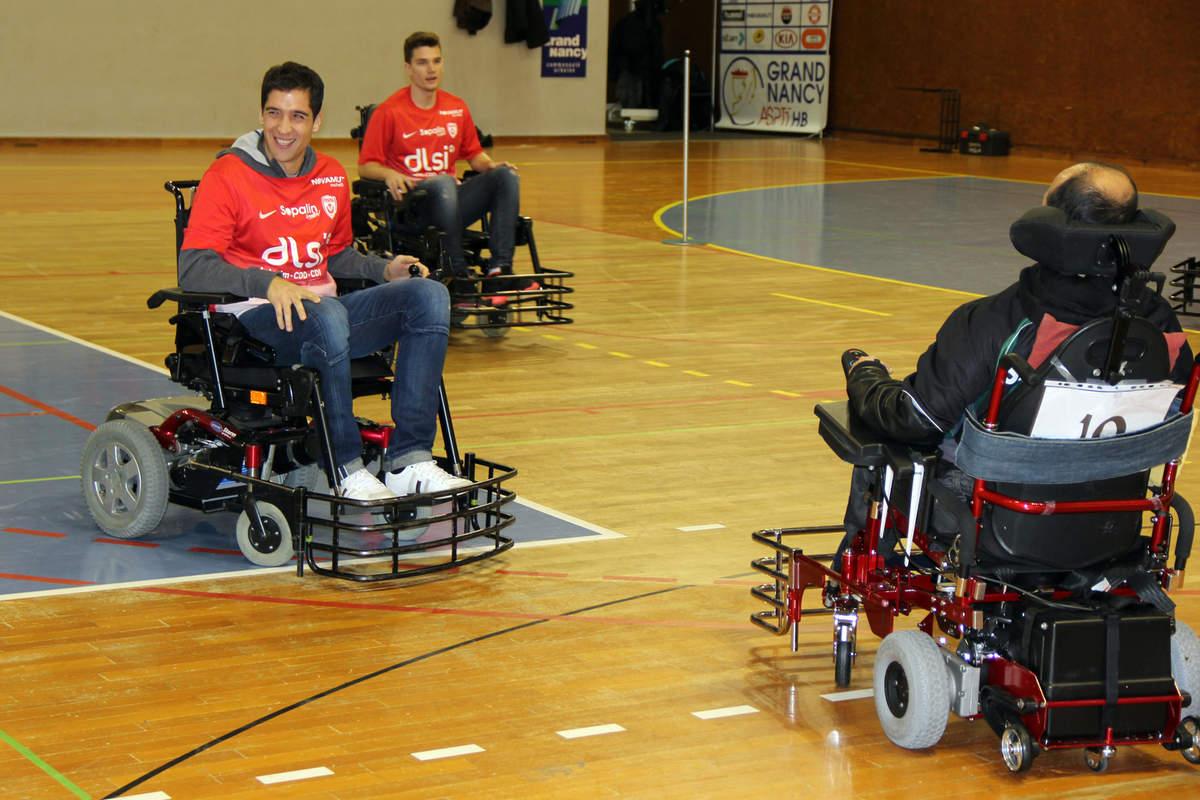 Vandoeuvre-Nancy en foot fauteuil - Photo n°8