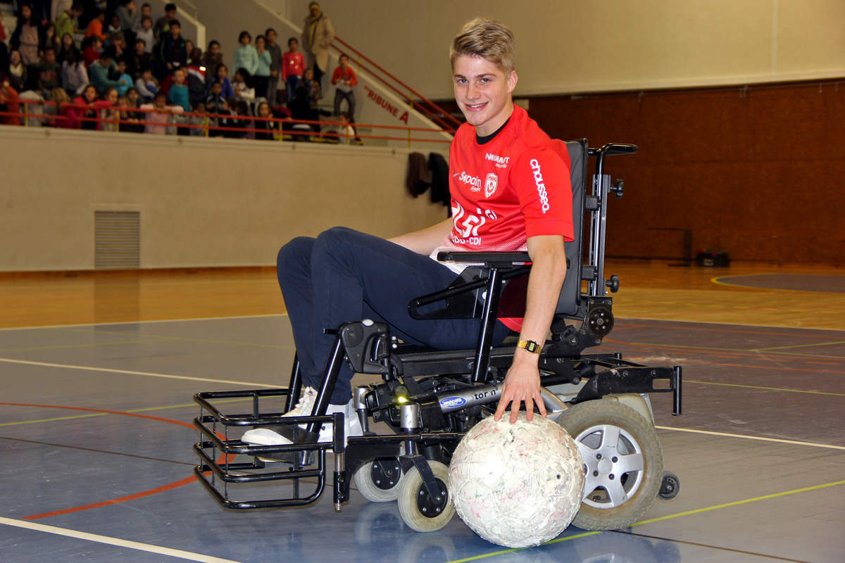 Vandoeuvre-Nancy en foot fauteuil - Photo n°10
