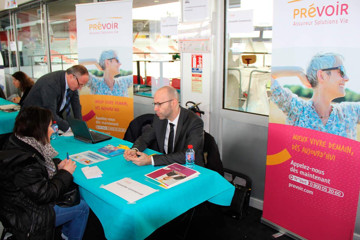 Le 3ème forum de l'emploi - Photo n°1