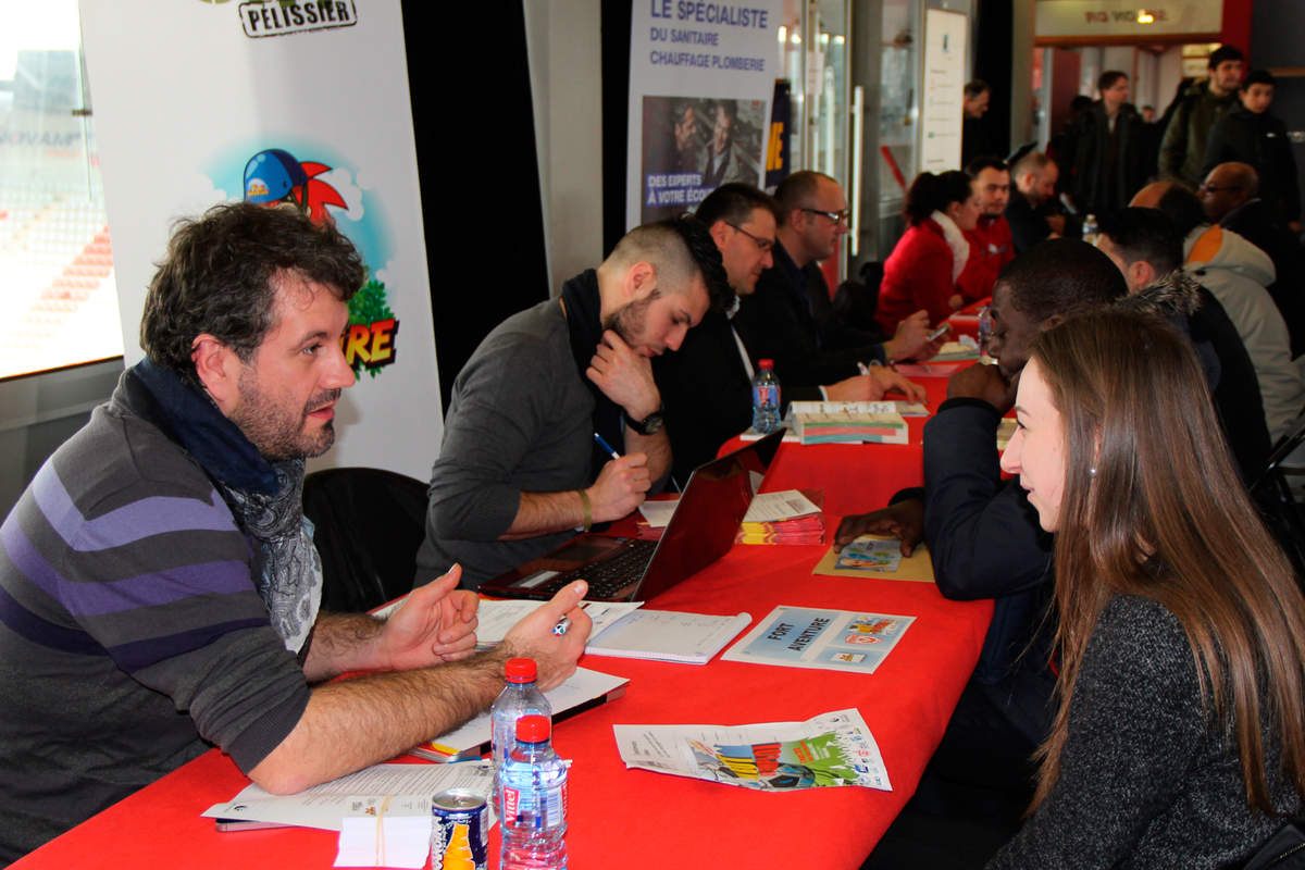 Le 3ème forum de l'emploi - Photo n°8