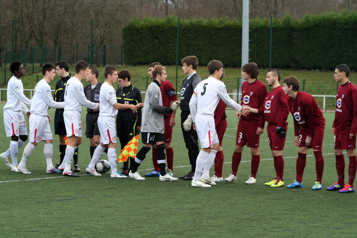 Nancy-Metz en U17 - Photo n°0