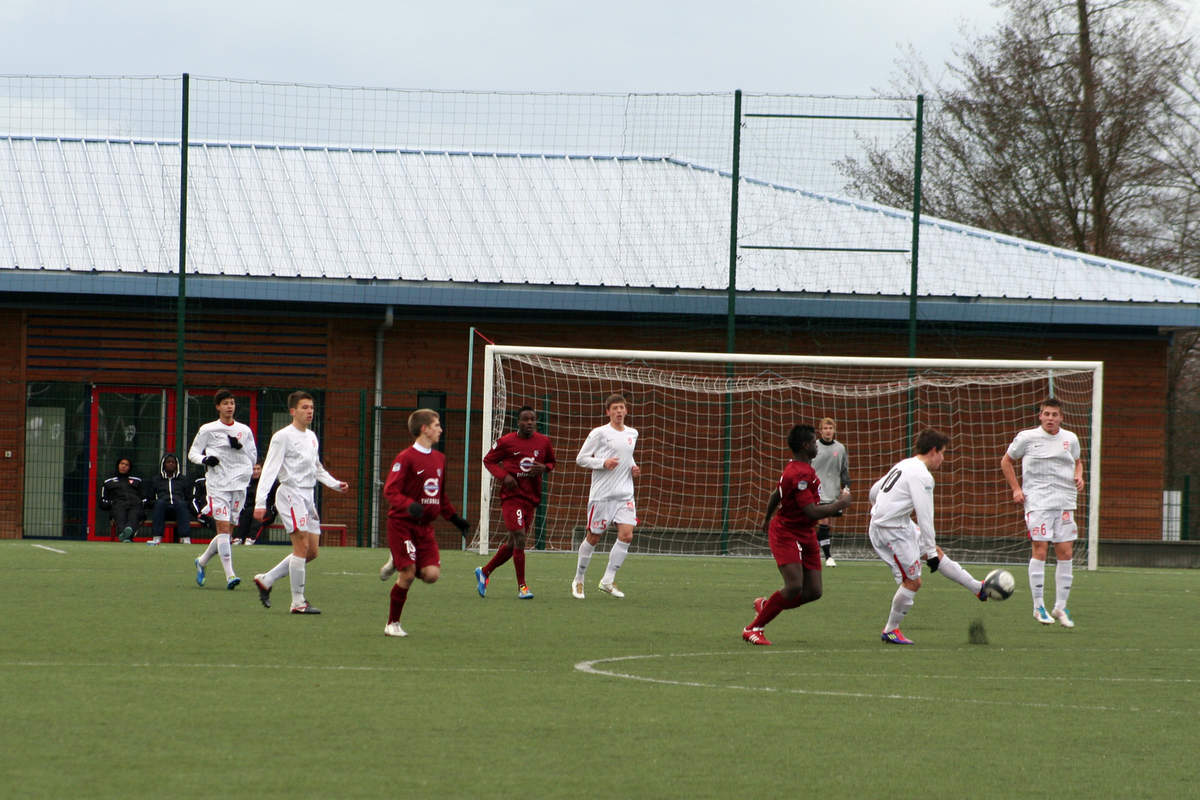 Nancy-Metz en U17 - Photo n°1