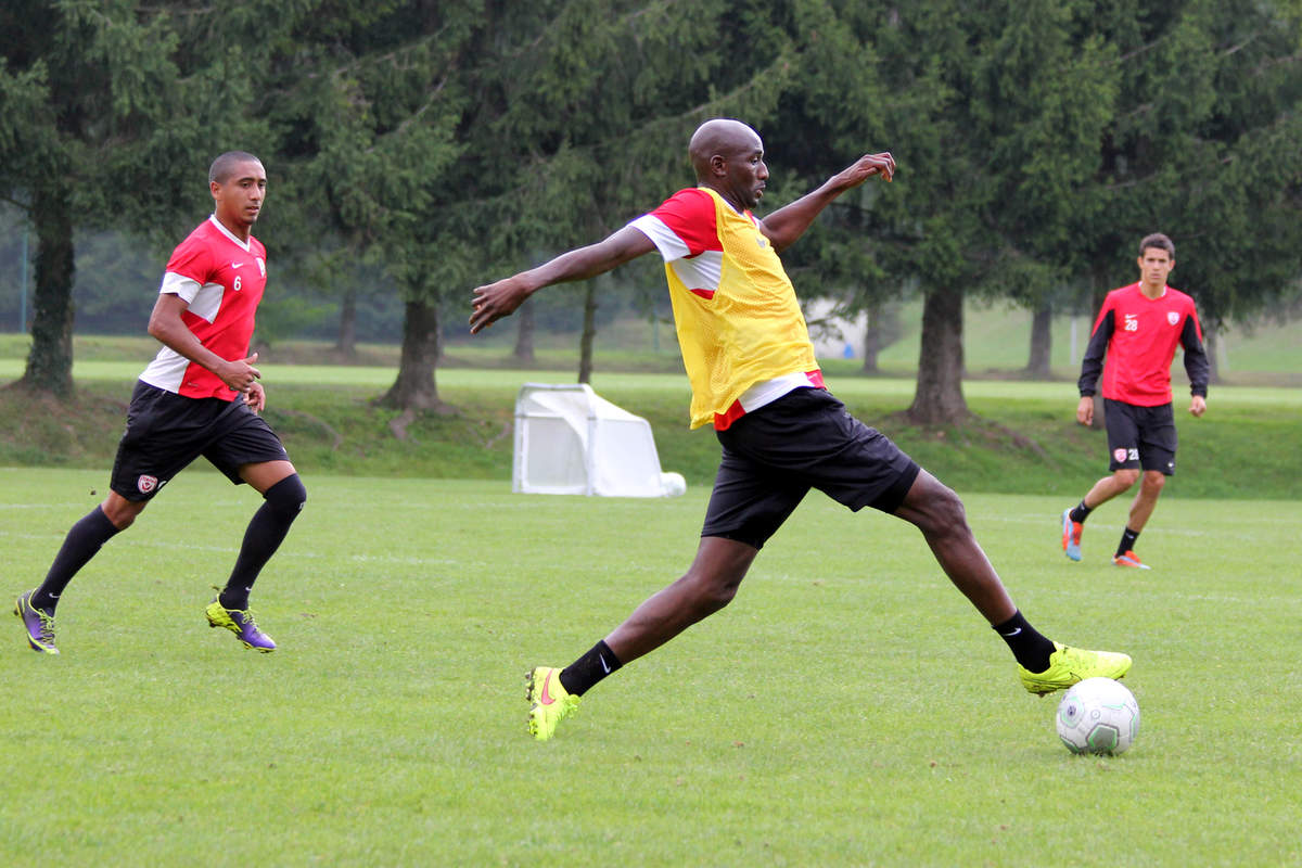 Diarra à l'entraînement - Photo n°7