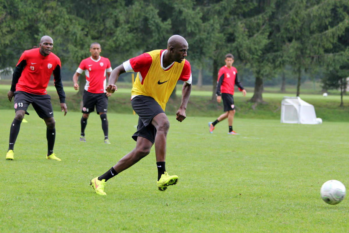 Diarra à l'entraînement - Photo n°8