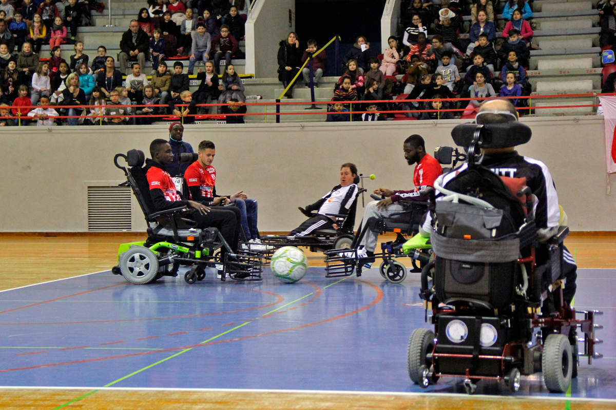 Du foot en fauteuil - Photo n°3