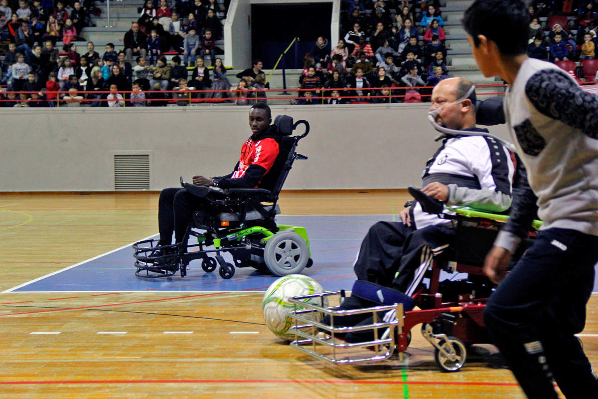 Du foot en fauteuil - Photo n°8