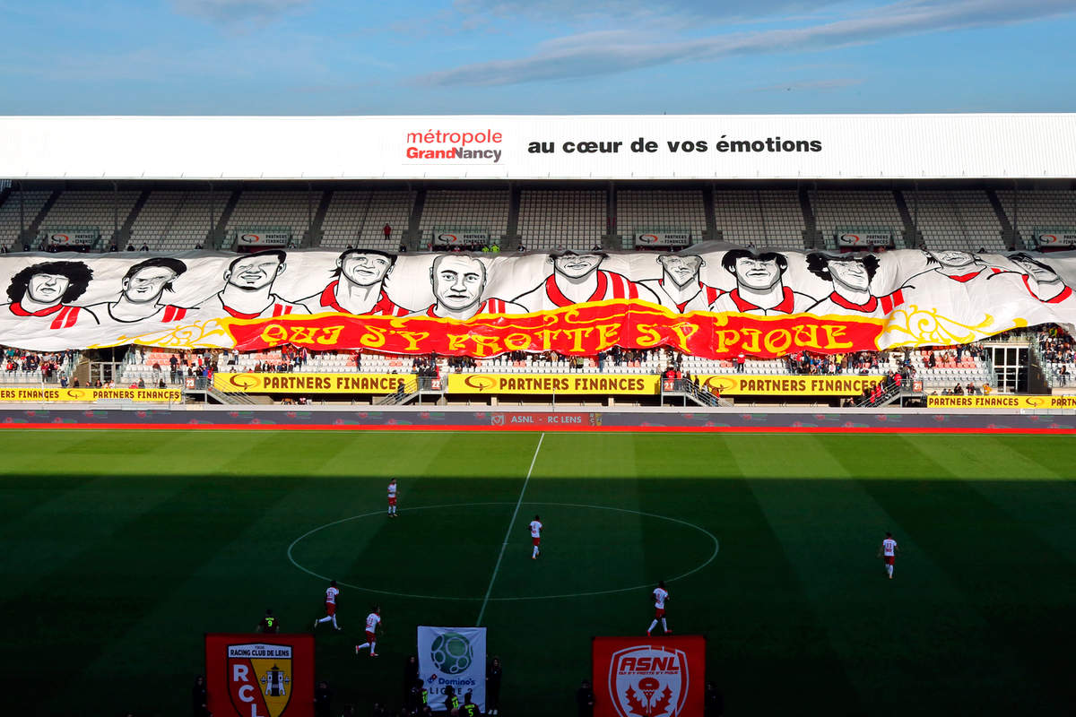 Le tifo des 50 ans - Photo n°6