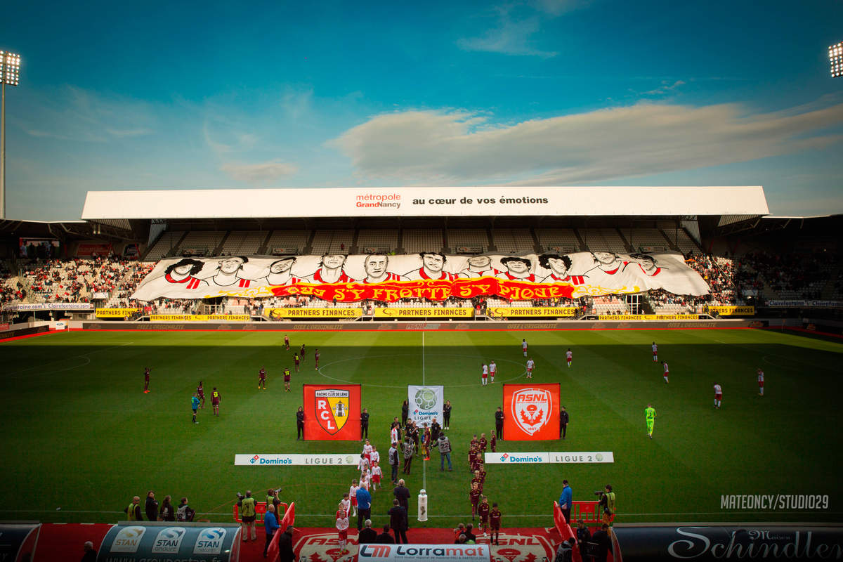 Le tifo des 50 ans - Photo n°2