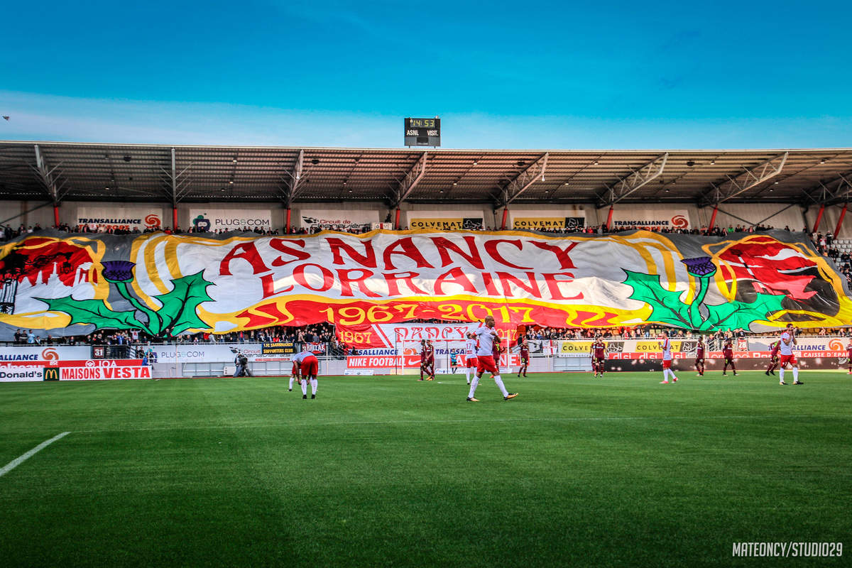 Le tifo des 50 ans - Photo n°8