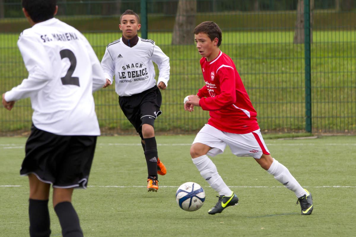 ASNL/Marienau en U15 Ligue - Photo n°2