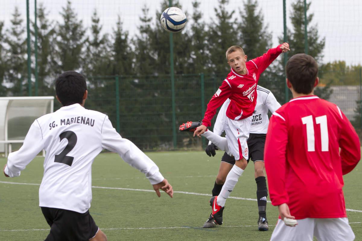 ASNL/Marienau en U15 Ligue - Photo n°9