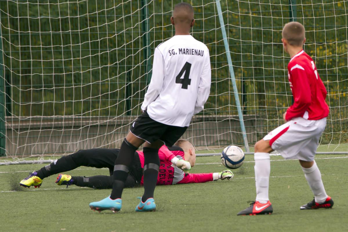 ASNL/Marienau en U15 Ligue - Photo n°13