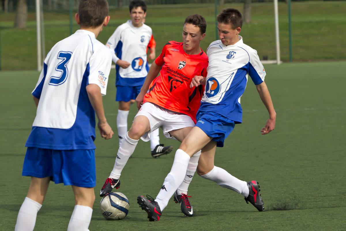 ASNL-Sarrebourg en U17 Ligue - Photo n°2