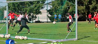 L'avant-match de FCGB-ASNL