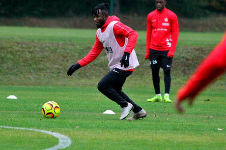L'avant-match de St Louis-Nancy