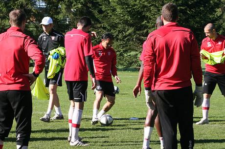 L'avant-match d'ASSE-ASNL