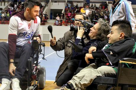 Du foot en fauteuil