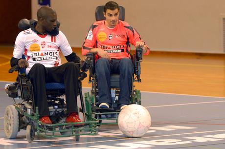 L'ASNL encore terrassée au foot-fauteuil