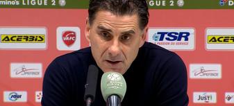 D. Tholot après Valenciennes-Nancy