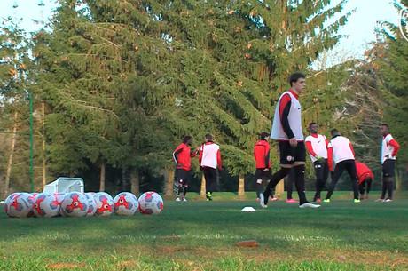 L'avant-match d'ASNL-VAFC