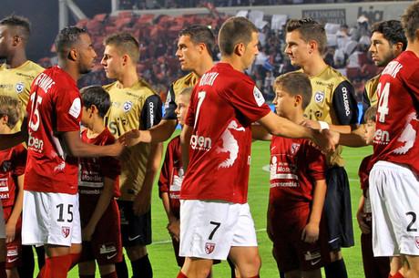 L'avant-match d'ASNL-FCM