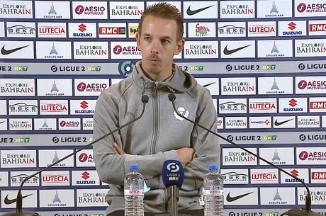 Benoit Pedretti après Paris FC-Nancy