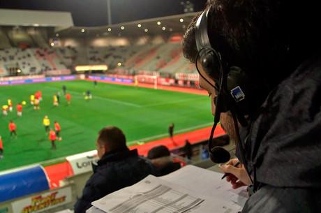 La voix de la radio