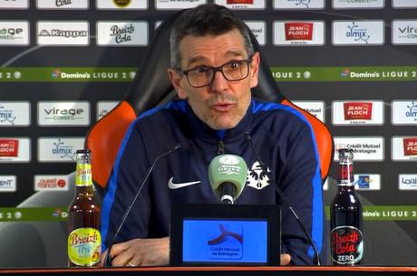 JL. Garcia après Lorient-Nancy
