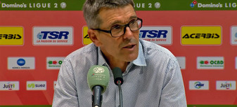 Garcia après Valenciennes-Nancy