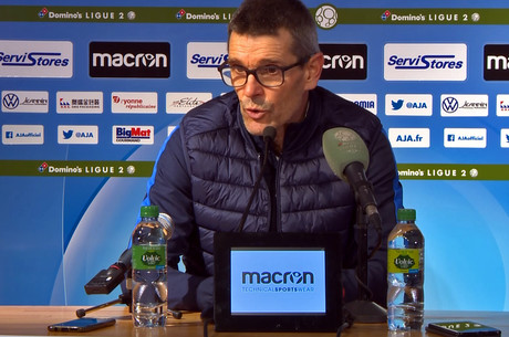 JL. Garcia après Auxerre-Nancy