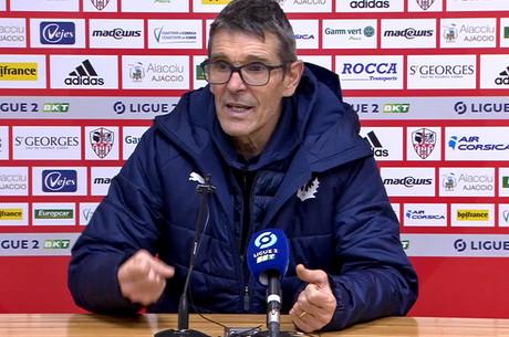JL. Garcia après Ajaccio-Nancy
