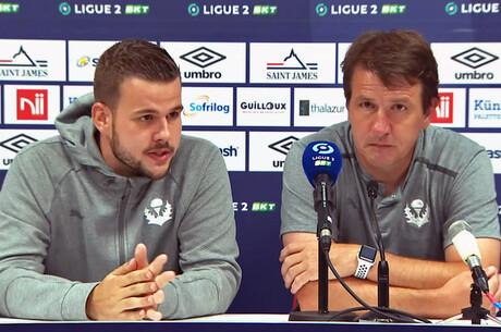 Daniel Stendel après Caen-Nancy