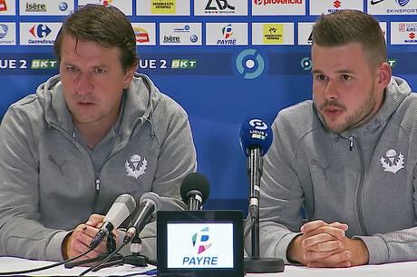 Daniel Stendel après Grenoble-Nancy