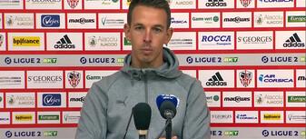 Benoit Pedretti après Ajaccio-Nancy