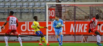 L'avant-match de Nancy-Guingamp