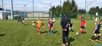 Le foot avant tout aux stages vacances