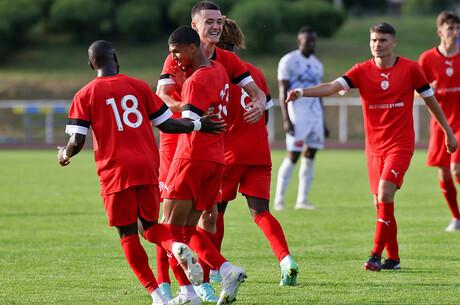 Les buts nancéiens de Thaon-Nancy (2-2)