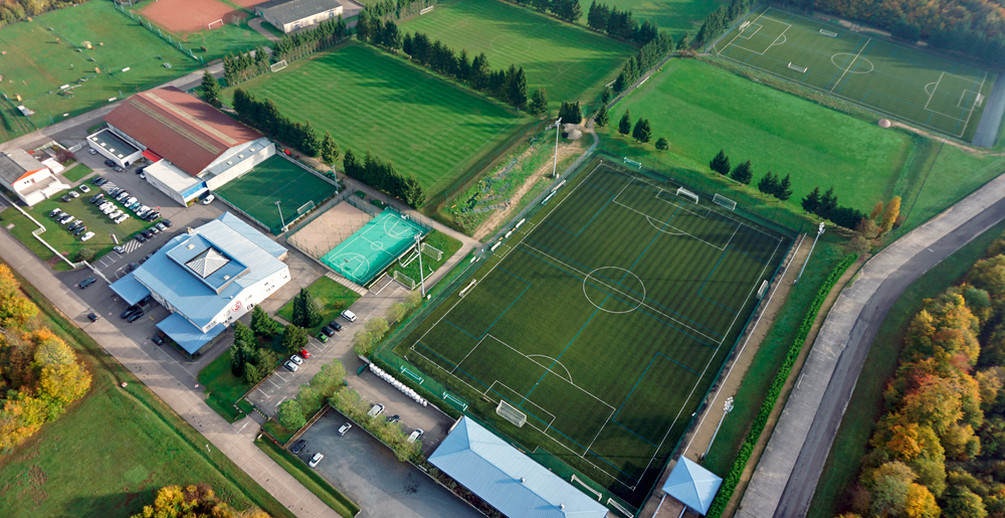 Le centre de formation Michel Platini