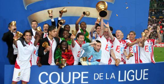 Les vainqueurs de la coupe de la Ligue 2006